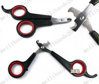 Wholesale Pet Dog Cat Care Nail Clipper Scissors Grooming Trimmer MYY7768