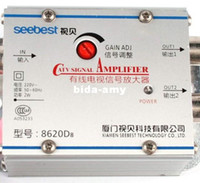 Wholesale TV CATV Antenna Broadband Signal Amplifier AMP Booster
