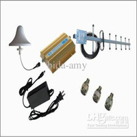 Cheap Wholesale - Cell Phone Signal Booster 3G Repeater with Antennas Cover 500 Square Meters (Free Shipping+Low Cost