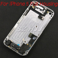 Wholesale Metal Middle Frame Back Housing Case Cover with Repair Parts Flex Cable and Side Button For iPhone S Full Housing Assembly Colors