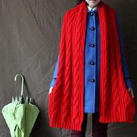 Wholesale S5Q Fashion Korean Winter Women Men Braided Knit Wool Long Scarf Wrap Shawl Scarves AAACQT