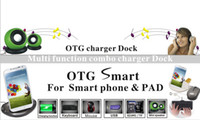OTG charger dock for smart phone pad samsung iphone htc etc.