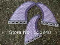 Wholesale New arrival original purple high quality future surfboard G5 surf fins