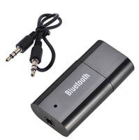 Wholesale S5Q USB Bluetooth Music Audio Stereo Receiver For Car AUX IN Home Speaker Headphone AAACNP