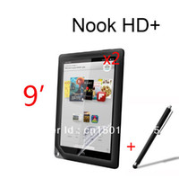 For Barnes&Noble NOOK HD Yes  2x Matte Matted Anti-Glare Anti-fingersprint Screen Protector +1x Stylus For Barnes&Noble NOOK HD+ 9