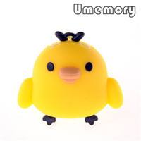 Wholesale Hot Retail Cute Plastic Toki Tori USB Flash Disk GB GB GB GB GB Chicken Run Shape Pen Drive Memory US0180