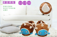 Wholesale LOL League of Legends X MAS Christmas Despicable Me cotton slippers shoes small yellow Capsule people Daily Item