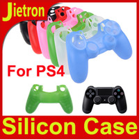 PS4   DHL Free Shipping!!! Soft Silicone Case cover for Sony Playstation 4 PS4 Gamepad Controller Skin!!