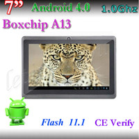 Wholesale Dual camera Inch Supper Slim allwinner A13 MB DDR3 and GB storage cheapest tablet pc
