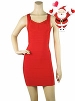 Wholesale Backless Spaghetti Strap Sexy Night Club Wear Open Back Ladies Elastic Red Four Color V neck Party Mini Bandage Dress JG1304
