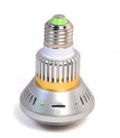 Yes bc storage - BC Bulb Lamp CCTV Camera Bulb IR LED Security DVR Video Recorder Motion Detection cycle storage mm lens Free Ship