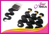 Wholesale Honest Length Mixed Length Brazilian Virgin Remy Human Hair Weft Closure Hair Weave Body Wave Hair Extension