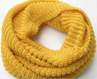 Fashion Women Ladies Girls Warm Knit Neck Circle Wool Blend ...