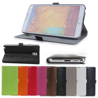 For Samsung Leather A Color new Multi-Color Hamster Pattern Folio Folding Case PU Leather Flip Stand Cover Skin with Card Bag for Samsung Galaxy Note 3 N9000 N9006