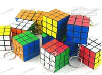 Wholesale LLFA3812 Mini key chain Cube toys Intellectual development Cheap Kid Toys Rubik s Cube Hot selling