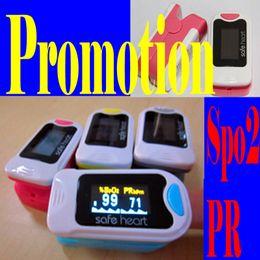 Wholesale HOT sales High quality CE FDA Fingertip Pulse Oximeter OLED display SPO2 monitor Blood oxygen waveform1 unit Free P amp P