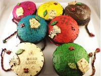 Wholesale ECO Wallet Coin Purse Vintage Coconut Shell Mix Color B
