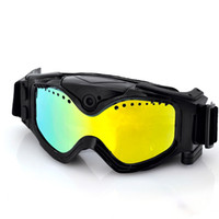 Wholesale 720p Wide Angle Skiing Goggles With Built In Action Camera
