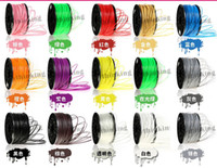 3D printer Original  20 rolls lot ABS PLA 1.75MM 3.0MM filament for 3d printer(15 colors,retail packaging,1 roll=1 pcs=1.4KG)