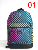 Wholesale Fashion Packs for Kids Cute Backpacks Colorful Printed Plaid Design High Quality Zipper and Plastic Pullers New Arrivals Hot Sale EP07