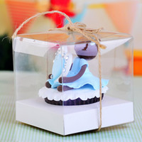 Wholesale Transparent Cupcake Boxes Single cupcake box plastic box single cupcake box cake box