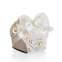 Wholesale new design wedding laser cut box fashion box