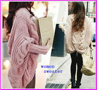 Wholesale 2016 new women fashion thickening color Plus Size winter warm long cardigan sweater loose coat overcoat color BAF2711