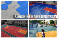 Wholesale Plastic PP Sport Court Surface For playground Environmentally Friendly Flooring