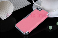 Wholesale 5G S Leather case Wallet ID Credit case with stand ultrathin flip leather PU case skin with back battery cover For iphone4s G From Imgirl