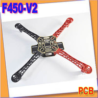 Wholesale New FLAME WHEEL F450 BASIC KIT F Quad rotor Multicopter PCB AirFrame Kit as DJI Fit