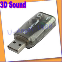 Wholesale USB Audio Headset Headphone Earphone Mic Microphone Jack Converter Adapter