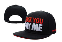 Sun Hats Men Silk Wholesale - cheap!2013 new FUCK YOU PAY ME baseball snapback hats for men and women hip pop sports caps fashion hat top quality