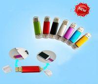 Wholesale Hot sales pendrives GB GB USB Flash Drive Thumbdrie pen drive rotational style U disk external storage micro usb memory stick