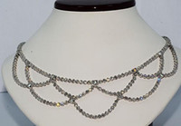 Wholesale Ct Natural Diamond Hanging Necklace Platinum