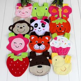 Animales libres en venta-Los baberos libres de los niños del diseño animal de los baberos del algodón de los bebés 10pcs / lot del envío de los muchachos muchos diseñan