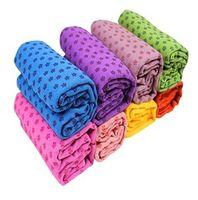 Wholesale Micro Fiber Non slip Yoga Mat Towel Soft Skidproof Star Skidless Yoga Towel Yoga Mat Non slip Yoga Mats for Fitness Yoga Blanket