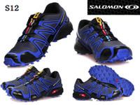 Wholesale Fast Shipping Colors Salomon speedcross Men s Running Shoes Men Sport shoes Sneakers Size EUR40
