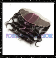 Wholesale Virgin Brazilian Hair Lace Frontal quot x4 quot Straight AAAAA Grade length quot quot natural Color