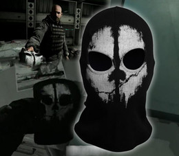 Wholesale New CALL OF DUTY X GHOST Ghosts MASK SKULL Logan Final Ski Biker Balaclava Face Head Warmer