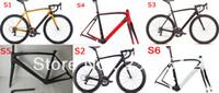 Wholesale HOT super light cm g carbon frame road carbon road bicycle frameset cm with