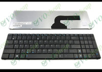 New and Original asus laptop keyboard layout - New Laptop keyboard FOR ASUS N50 N53S N53SV N55SF K50 K52F K53S K53SV K72F X53B X53S X72D Black US layout V090562AS1