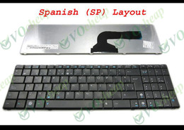 New Laptop keyboard FOR ASUS N50 N53S N53SV N55SF K50 K52F K53S K53SV K72F X53B X53S X72D Black Spanish espanol SP