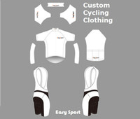 Wholesale custom cycling jersey and bib shorts combo set custom bike clothing set bicycle uniform cycle apparel