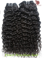 Wholesale For Your Nice Hair Cheap a Brazilian Hair Brazilian Deep Curly Virgin Human Hair Extensions B g DHL