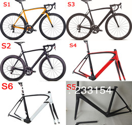 Wholesale 2014 Bike Bicycle Frame Carbon Road Bike Frameset carbon fiber road bicycle frame cm cm cm cm cm