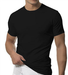 Wholesale Men s Sport T shirt Comfortable Cotton Shirt Promotin Price
