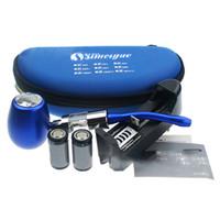 Electronic Cigarette Set Series silver /purple Electronic Cigarette EPipe K1000 Mod Starter Kit With 18350 900mah Battery K1000 Tank Atomizer Huge Vapor EGO Kits