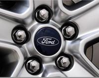 ford caps - Hot Sale mm Alloy Wheel Centre Cap Caps Car Badge Emblem Emblems for FORD BY DHL