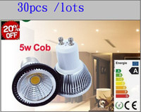 Wholesale free CE ROHS Energy Saving COB W Led Spotlights E27 E14 MR16 GU10 Warm Natrual Cool White Led Bulbs Light Lumens V