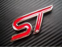 Wholesale Hot Sale METAL ST Rear Boot Side Sticker Car Badge Emblem Emblems for FORD BY DHL